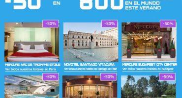 La cadena hotelera ACCOR se promociona con precios de escándalo