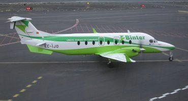 La aerolínea canaria Binter amplia rutas