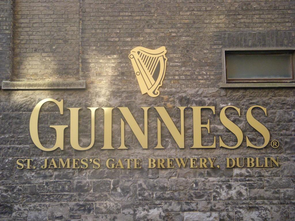 Fábrica de cerveza Guinnes en Dublín