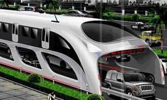 El futuro del transporte urbano: el autobús conceptual de Chinahush