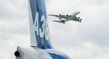 El nuevo Airbus A380 aterrizó en Barcelona