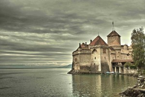 Castillo de Chillon - Dónde se encuentra la estatua