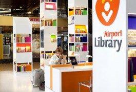 El aeropuerto de Ámsterdam Schiphol abre la primera biblioteca