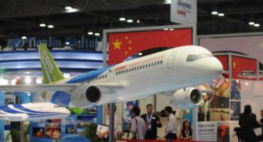 China intenta terminar con el duopolio aeronáutico con la producción de sus propios aviones C919