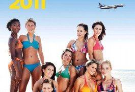 Ryanair pone a la venta su calendario solidario 2011