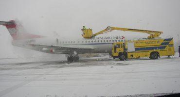 Última hora: cierres de aeropuertos en París, Frankfurt, Londres, Dublín,… el temporal sigue azotando Europa