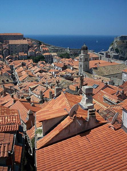 Vistas de la ciudad vieja de Dubrovnik