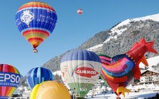 33 Festival Internacional de Globos Aeroestáticos de Château-d'Oex, Suiza