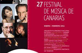 27º Festival de Música de Canarias, 64 conciertos en las siete islas
