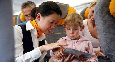 Las aerolíneas estudian excluir a los niños de la clase business