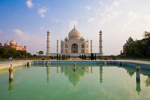 Taj Mahal - frontal
