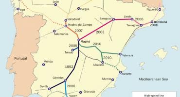 Primeros pasos del AVE a Galicia