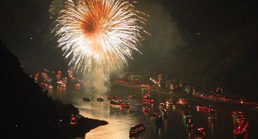 El Rin en llamas, el mayor espectáculo pirotécnico de la primavera europea