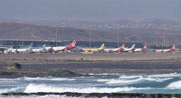 6 vuelos afectados en Canarias por la nube volcánica