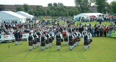 Competencia mundial de gaiteros, una auténtica experiencia escocesa