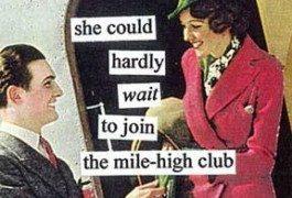 ¿Conocéis el Mile High Club?