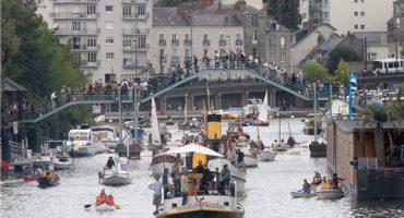 El festival  Rendez-vous de l'Erdre, jazz y regatas en el corazón de Nantes
