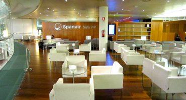 Nueva sala VIP de Spanair en Barcelona