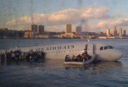 ¿Millas para volar gratis? Mejor ir a la escuela para accidentes de avión…