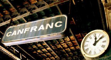 Estación abandonada de Canfranc