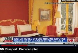 """…un hotel con """"divorcio express"""""""