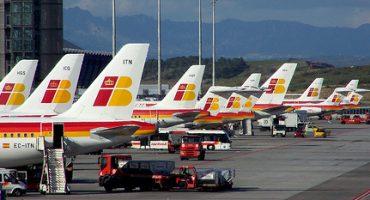 Iberia cancela 138 vuelos para este lunes