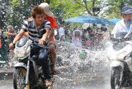 Batalla encontrada: Songkran y la fiesta del agua en Tailandia