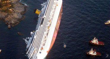 El Costa Concordia será remolcado a un puerto italiano