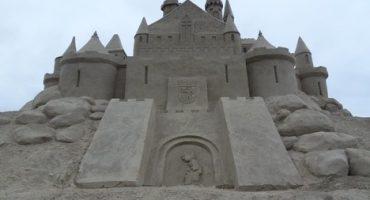 Castillos de arena en Lappeenrata, Finlandia