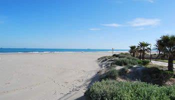 La playa castellonense del Gurugú se convierte en sala de cine