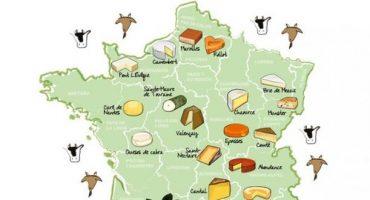 Cómo conocer Francia a través de sus quesos