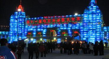 Quedarse helado ante las esculturas de hielo de Harbin