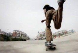 China y el pueblo fantasma a los pies de los skaters