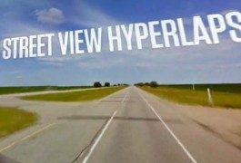 Viajando por carretera por cortesía de Google Street View