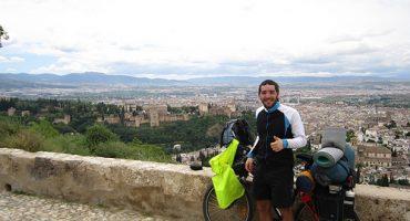 La aventura contra la cordura de Eric: de Cracovia a Granada en bici (Final)