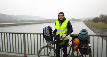 La aventura contra la cordura de Eric: de Cracovia a Granada en bici (Parte 1)