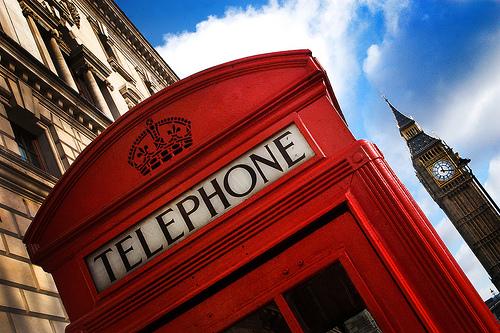 Teléfono Londres