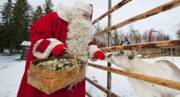 Papá Noel te está esperando en Finlandia