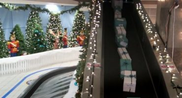 La fabulosa Navidad de la aerolínea WestJet