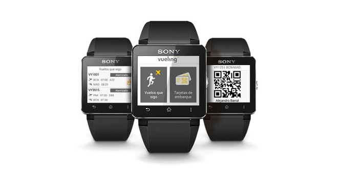 Reloj Sony