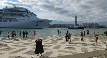 Los grandes cruceros vuelven a Venecia