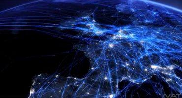 El tráfico aéreo en vídeo, ¡impresionante!