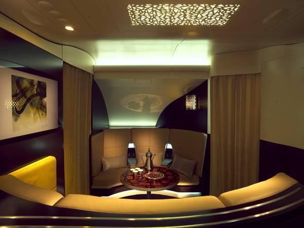 Cabina VIP Etihad