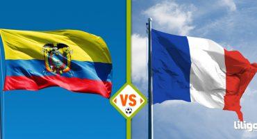 Mundial de Brasil 2014: ¡juega el encuentro Ecuador vs Francia!