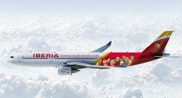 El avión de la Selección Española de fútbol