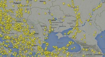 Se limitan los vuelos sobre Ucrania