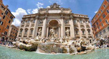 Comienza la restauración de la Fontana di Trevi en Roma