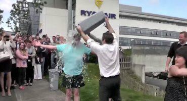 Ryanair participa en el «Ice Bucket Challenge»