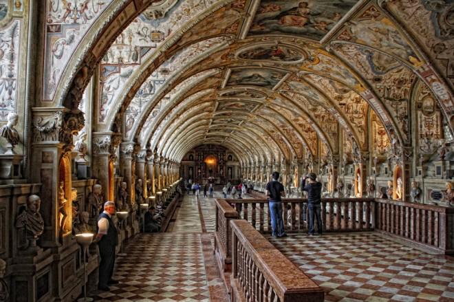 Interior del Museo Alemán de Múnich