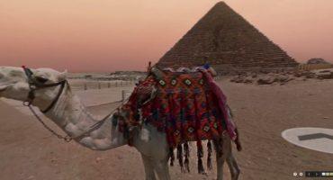 Google Street View se pasea por las pirámides de Egipto